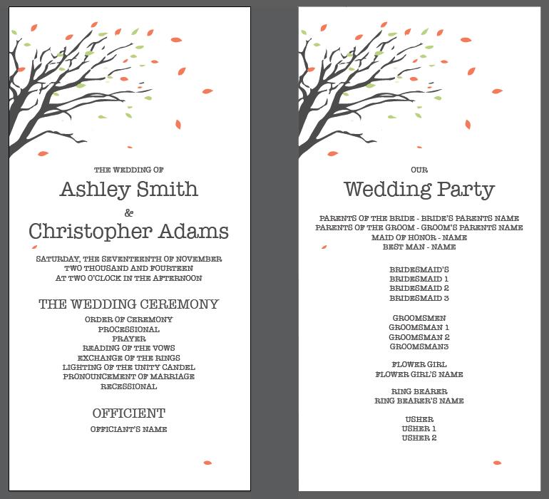 november wedding invitation s program vg invites what s new